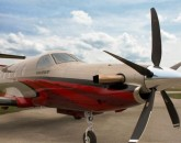 Hartzell 5 blade composite on PC-12