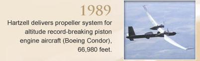 Boeing Condor Timeline