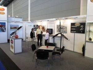 Hartzell Propller Sales Team at Aero Friedrichshafen