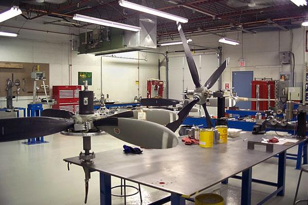 propeller overhaul