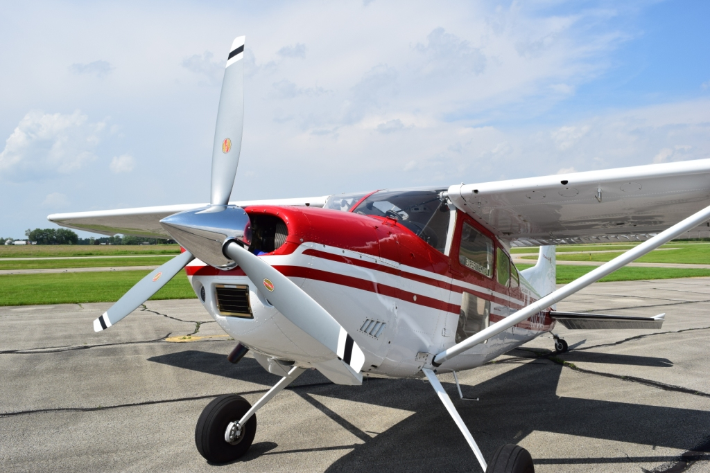 Cessna 185E-F Voyager Prop 2