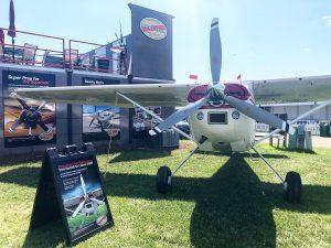 Hartzell Voyager Propeller on Cessna 185 plane