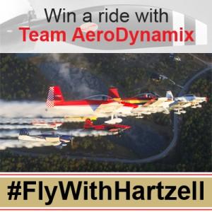 #FLYWITHHARTZELL