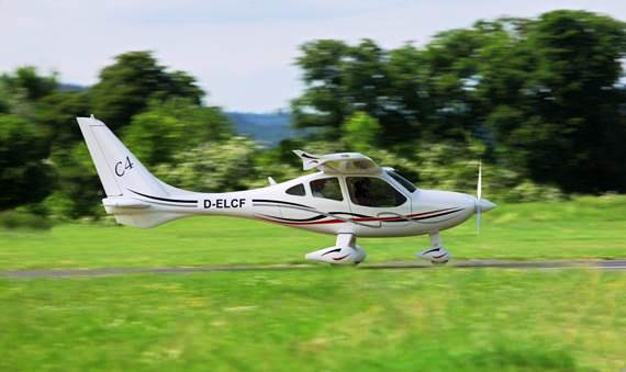 Flight Design's New Alternative Fuel C4 Aircraft