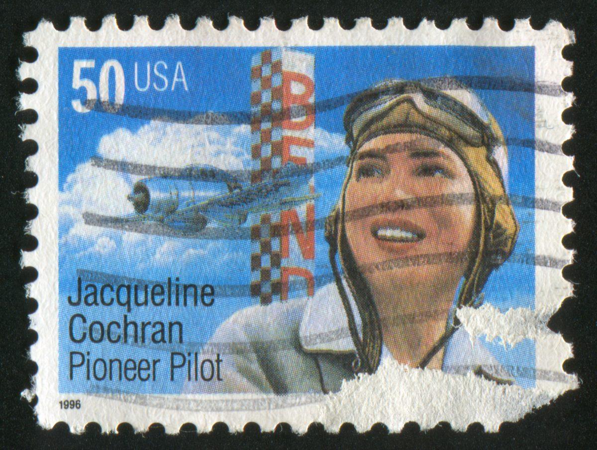 Jaqueline Cochran Stamp
