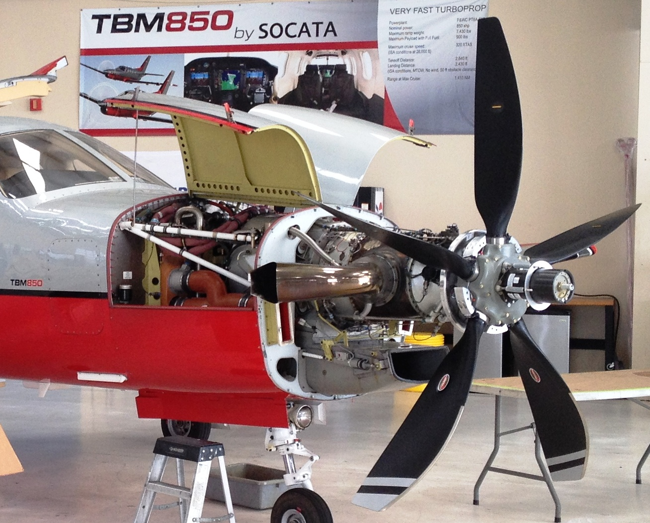 Easa Oks Hartzell 39 S 5 Blade Composite Swept Prop For Tbm