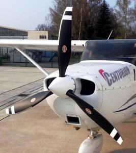 Hartzell Bantam on Cessna Skyhawk