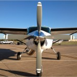 4-blade steel hub propeller with T10891 aluminum blades currently certified up to 950hp