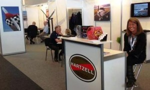 Hartzell Propeller Booth at Aero