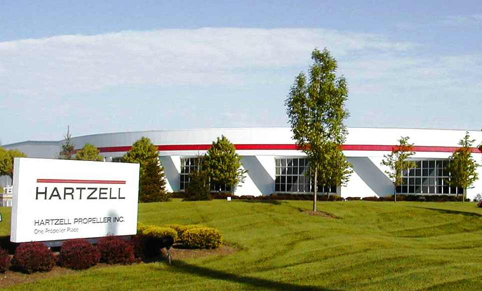 Hartzell Propeller Headquarters in Piqua, OH