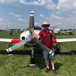 Travis Almuti with 3-blade Hartzell Propeller