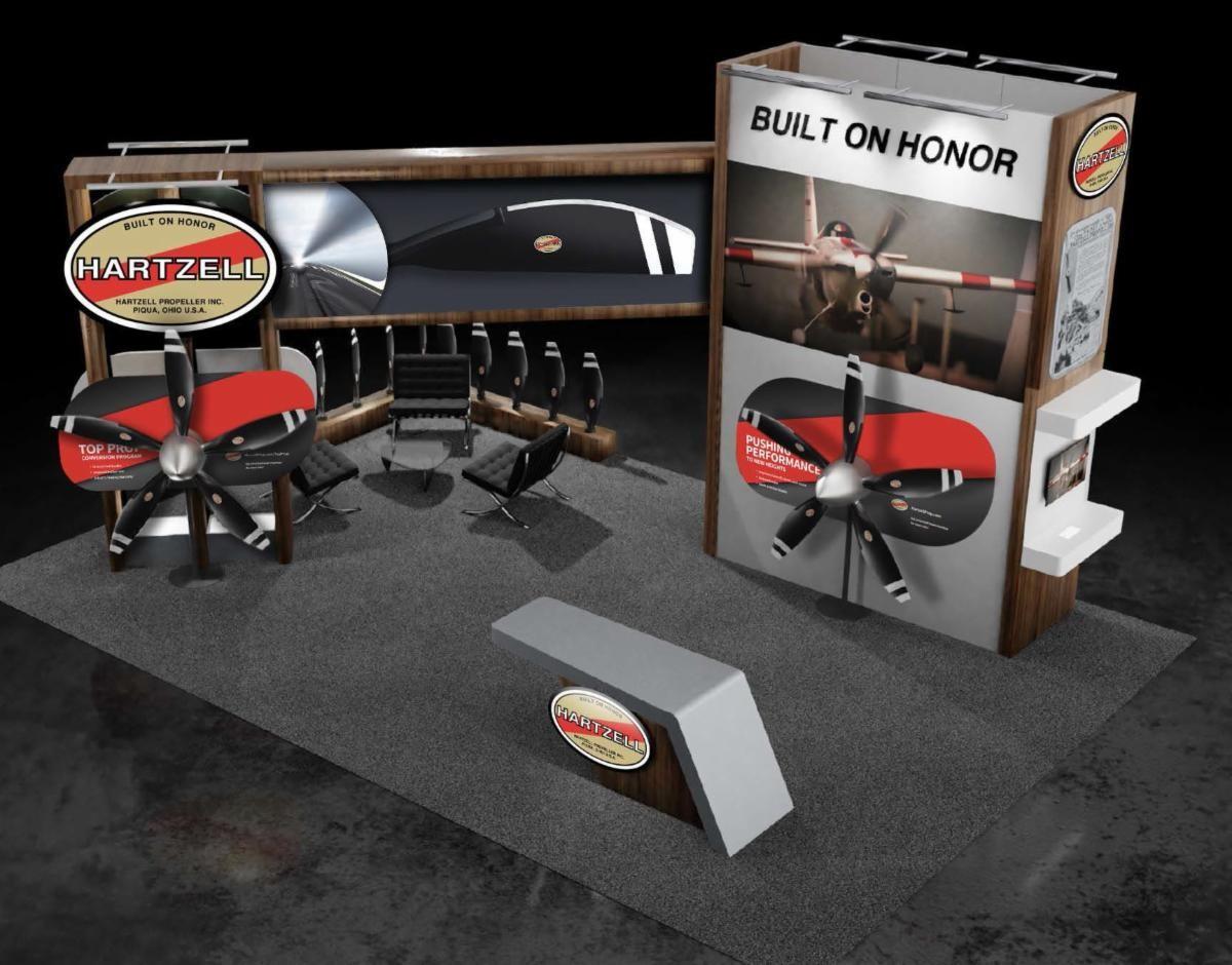 Hartzell's New Exhibit at NBAA-BACE 2021, Booth #3337