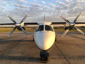 MU-2 Airplane After Hartzell New Propeller STC