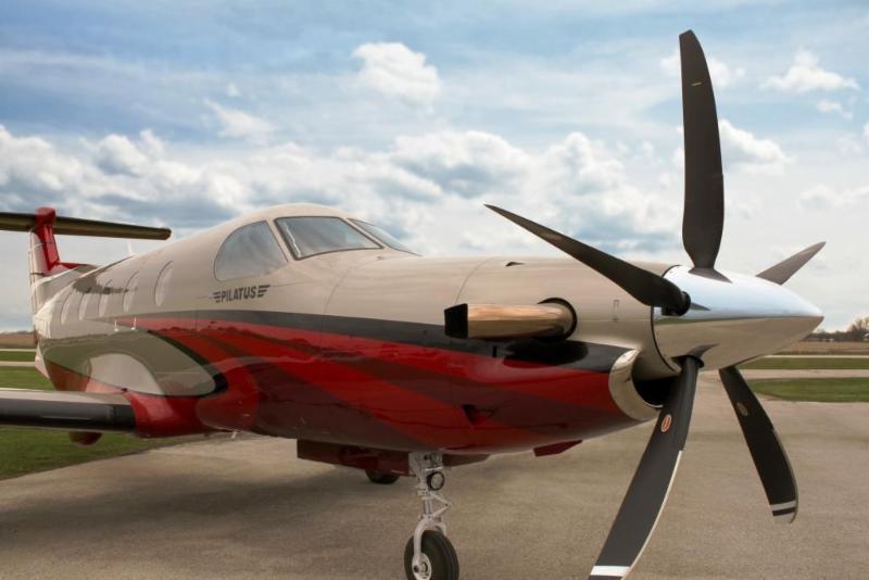 Pilatus PC-12 5-blade propeller