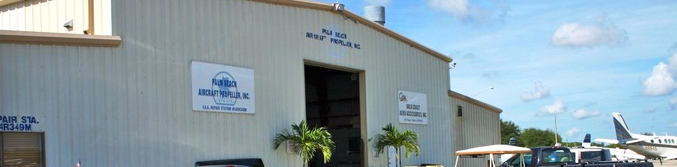 Palm Beach Aircraft Propeller, Inc. in Lantana, FL