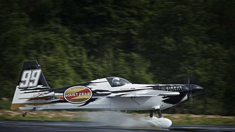 Hartzell Propeller Is Also Co-sponsoring Air Racer Michael Goulian For The Championship Series. (Balazs Gardi photo courtesy Red Bull Air Race)