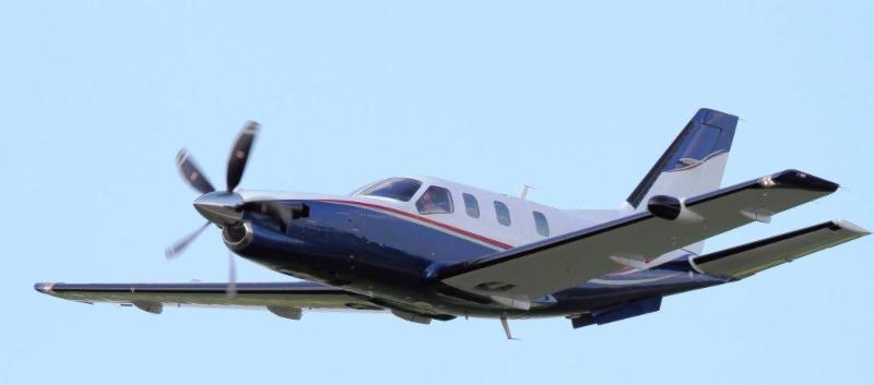 Socata TBM 900 with Hartzell 5-blade propeller