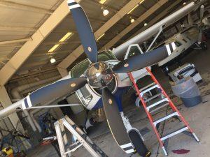 4-blade Hartzell Propeller at IJSC