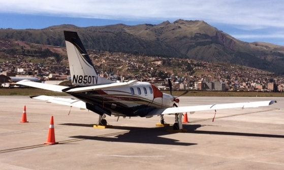 Hartzell's Composite 5-Blade Swept Prop for TBM 700/850
