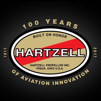 Hartzell Propeller's 100 Years Logo