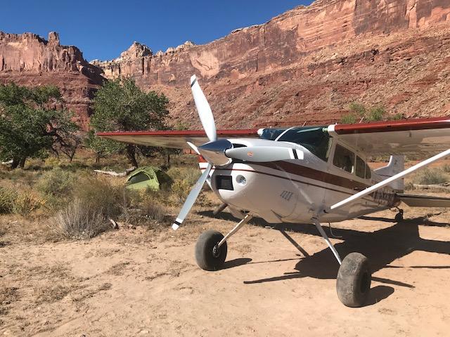 Willie Stene Airplane with Voyager Prop
