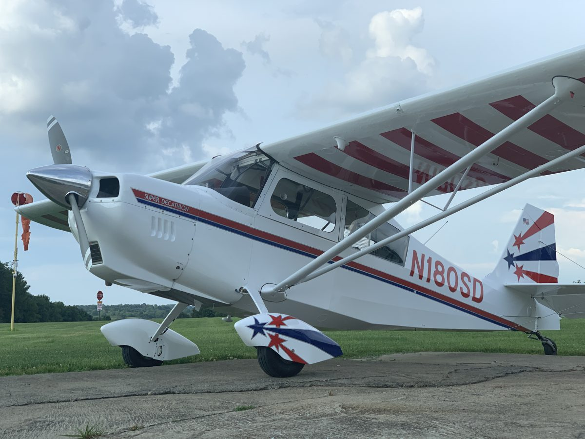 Bellanca Super Decathlon Jayson Chappell