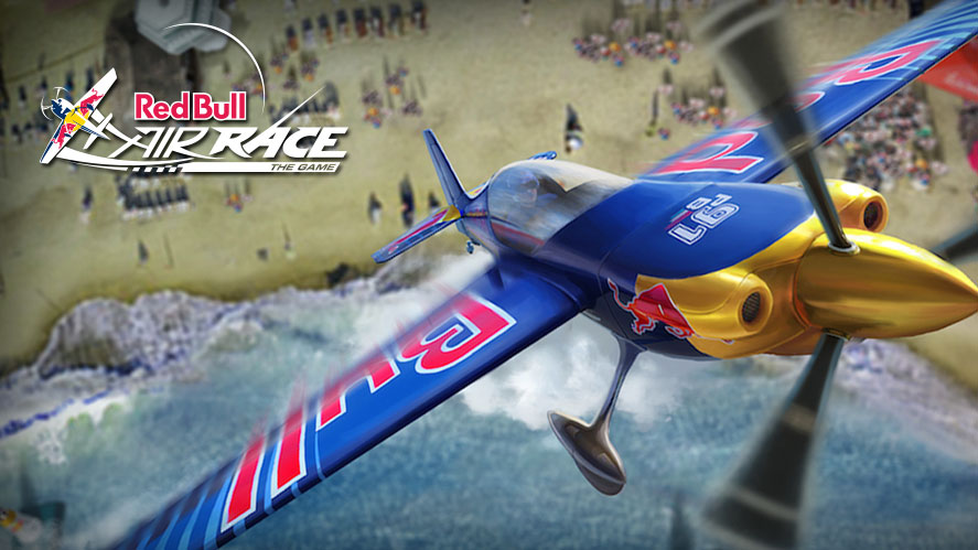 Photo of Red Bull Air Race aircraft in flight